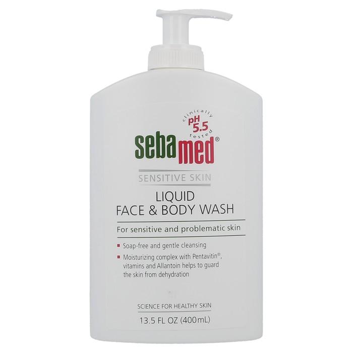 Liquid Face & Body wash - 400 ml