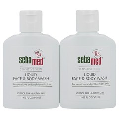 Travel Kit - 2 Pack Mini Face & Body Wash (50 ml each)