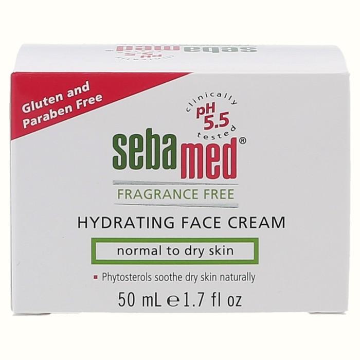 Fragrance Free Hydrating Face Cream - 50 ml