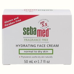 Fragrance Free Hydrating Face Cream - 50 ml