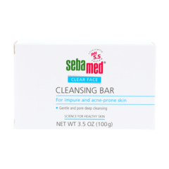 Clear Face Cleansing Bar - 100 g