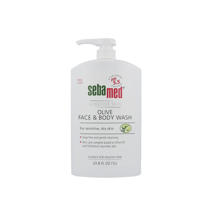 Olive Face & Body Wash - 1000 ml