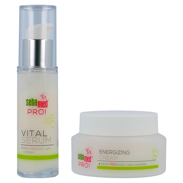 Sebamed Pro!  Vitalization Kit - Vital Serum  30ml + Energizing Cream  50ml