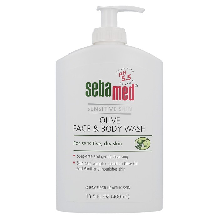 Olive Face & Body Wash - 400 ml