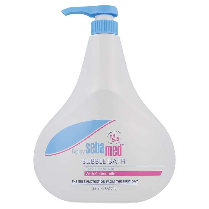 Baby Bubble Bath w/pump - 1000 ml